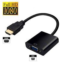 HDMI VGA Adaptateur Convertisseur pour PC, Chromebook, Raspberry Pi, Roku, Xbox