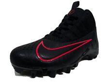 Nike Alpha Huarache 6 BG Lacrosse Cleats Size 5-6 Youth Black & Red 923418-006