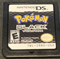 Pokemon Black Version 1 (Nintendo DS) -- Authentic game cart only -- Tested