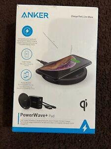 Anker Powerwave+ Pad 10w Qi Wireless Charging Pad w/ Quick Charge 3.0 Wall B2504