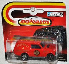 Majorette Series 200 #246 Range Rover District 3 Fire Dept. MOC VHTF red
