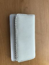 INC International Concepts Valliee Continental Wallet Distressed Pewter Grey