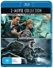 BLU RAY + JURASSIC WORLD FALLEN KINGDOM + JURASSIC WORLD BRAND NEW UNSEALED