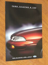 1994 Ford Telstar and TX-5 original Australian 16 page brochure plus specs