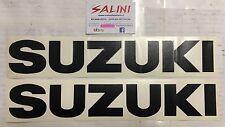 Adesivo coppia scritta SUZUKI nera Grande  - Sticker