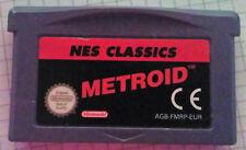 Video Gioco Retro Game Boy Advance GBA SP Nintendo PAL NES Classics Metroid
