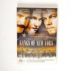 Gangs of New York Movie DVD Region 4 AUS Free Postage - Action Leonardo Dicaprio