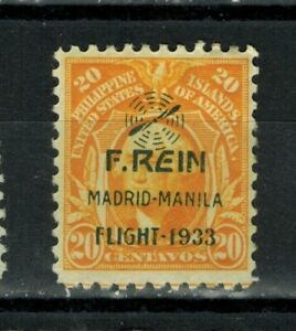 1933 US/Philippines Stamps - SC#C42 - c F.REIN Airmail Overprint - MH
