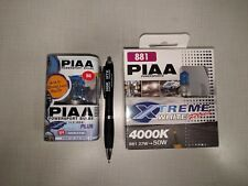 Harley Lighting Upgrade Kit PIAA Xtreme White Plus Halogen Bulb SEE and BE seen.