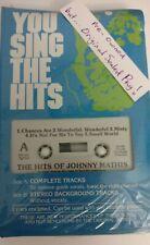 Vintage Pocket Songs Karaoke Cassette Hits of Johnny Mathis! Sealed Pkg!!