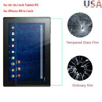 2.5D 9H Tempered Glass Film Screen Protector Anti-scrath for 10 10.1Inch Tablet