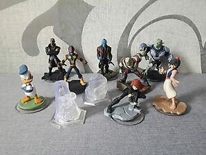 Disney Infinity 2.0 - 10-teiliges-Set (Yondu, Nova, Donald,..............) - Neu