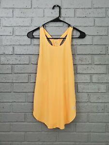 $40 Womens Size S Nike Dri-Fit City Sleek Tank Top Peach AT0784-882 Small