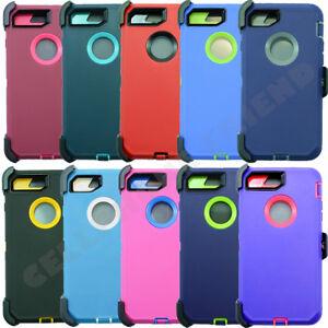 For Apple iPhone SE 2020 Defender Case Cover (Belt Clip fits Otterbox)