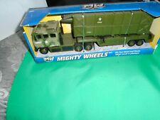 Mighty Wheels Army Truck Diecast 2013