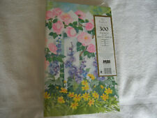 NEW MBI F460-300TR FLORAL 300 POCKETS 4 X 6  PHOTO ALBUM 3 RING