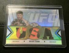 #2/9 Brian Stann Rare Triple Threads Gear Relic Card 2013 Topps UFC Knockout
