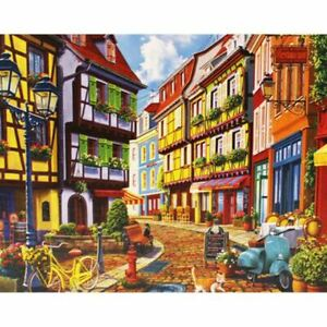 Cobblestone Alley 500 Piece Jigsaw Puzzle  e14