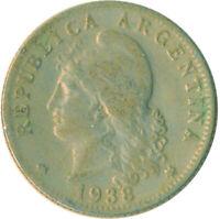 COIN / ARGENTINA / 20 CENTAVOS 1938             #WT6985