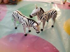 playmobil pair of ZEBRA  NOAH'S ARK Boat farm safari zoo