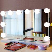 10Pcs Badezimmer Led Spiegel Licht Kit für Make-Up Hollywood Spiegel mit dimmbar