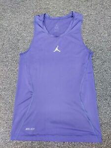 Jordan Purple Dri Fit Tank (Medium)
