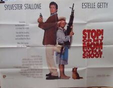 Silvester Stallone STOP OR MY MOM WILL SHOOT(1992) Original UK quad movie poster