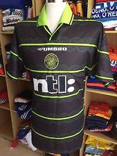 Camiseta celtic glasgow FC 1999/00 (XL) saliente away umbro St Pauli camisa jersey