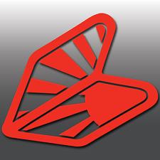 1x JDM Giapponese FOGLIA Rising Sun Divertente Adesivo Decalcomania in Vinile per Auto | JAP | euro | DUB