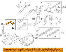 VOLVO OEM 07-16 S80-Door Sill Plate Right 39810363