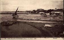 Salins-d'Hyères Frankreich alte AK ~1910 Le Port Hafen Harbor Selecta ungelaufen