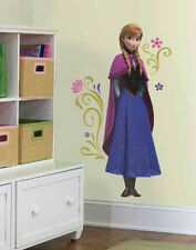 "Disney FROZEN ANNA wall stickers MURAL 10 decals 41"" room decor Elsa's sister"