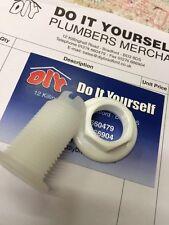 Nylon bush for toilet lever handle, Spare plastic bush for toilet flush handle