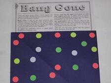 Bang Gone Magic Trick - Utility Prop, Vanish Silk, Close Up, Stage, Street Magic