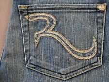 ROCK AND REPUBLIC R&R WOMENS SLIM BOOTCUT FIT FLARE LEG JEANS SIZE 25 NEW