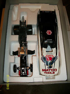 MATCO TOOLS 1998 SUPER NATION DIE CAST EVENT FUNNY CAR (EAGLE) BLACK & WHITE