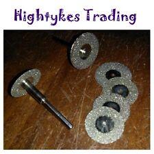 6pc MINI diamante tagliato DISCHI TAGLIO si adatta Mini utensile rotante DREMEL & Silverline