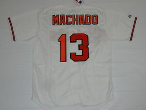 MANNY MACHADO SIGNED #13 BALTIMORE ORIOLES JERSEY LICENSED RARE EXACT PROOF