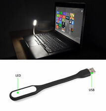 Flexible USB LED Light Lamp For Computer Keyboard Reading Notebook PC Laptop Us