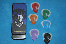 Dunlop John Van Hammersveld Jimi Hendrix Design Tin of Medium Picks, JVHPT03M