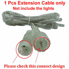 1PCS 3M Meteor Shower Lights Extension Cable (Not Include The Lights)