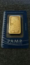 PAMP SOLID GOLD BAR .9999 1 OZ !!!
