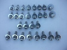 NEW STAINLESS STEEL FRONT GUARD PANEL BOLT KIT SUIT EJ EH HOLDEN BUTTON HEAD