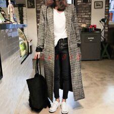 Women's Misto Lana Spessa coreano INVERNALI ALTI baggy fit Outdoor Casual Cappotto Parka