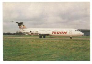 c1980s POSTCARD - YR-BCI, BRITISH AIRCRAFT CORPORATION 1-11, C/N 252, TAROM