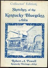 AUTHOR SIGNED NUMBERED LIMITED COLLECTOR ED SKETCHES OF KENTUCKY BLUEGRASS AREA