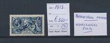 LM94757 Great Britain 1913 king George V fine lot used cv 350 EUR