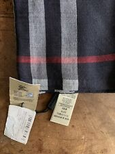 Burberry gauze giant check lightweigh wool and silk scarf