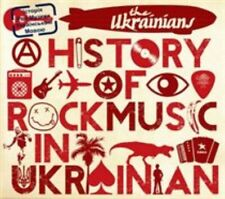 THE UKRAINIANS - A HISTORY OF ROCK MUSIC NEW CD