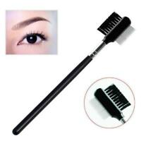 Dual Comb Extension Brush Comb Eyebrow Eyelash Brushes Makeup Cosmetic Tools BB
